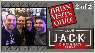 *2 of 2* Brian Visits Ohio Casino ✦ LIVE PLAY ✦ Slot Machine Pokies at JACK