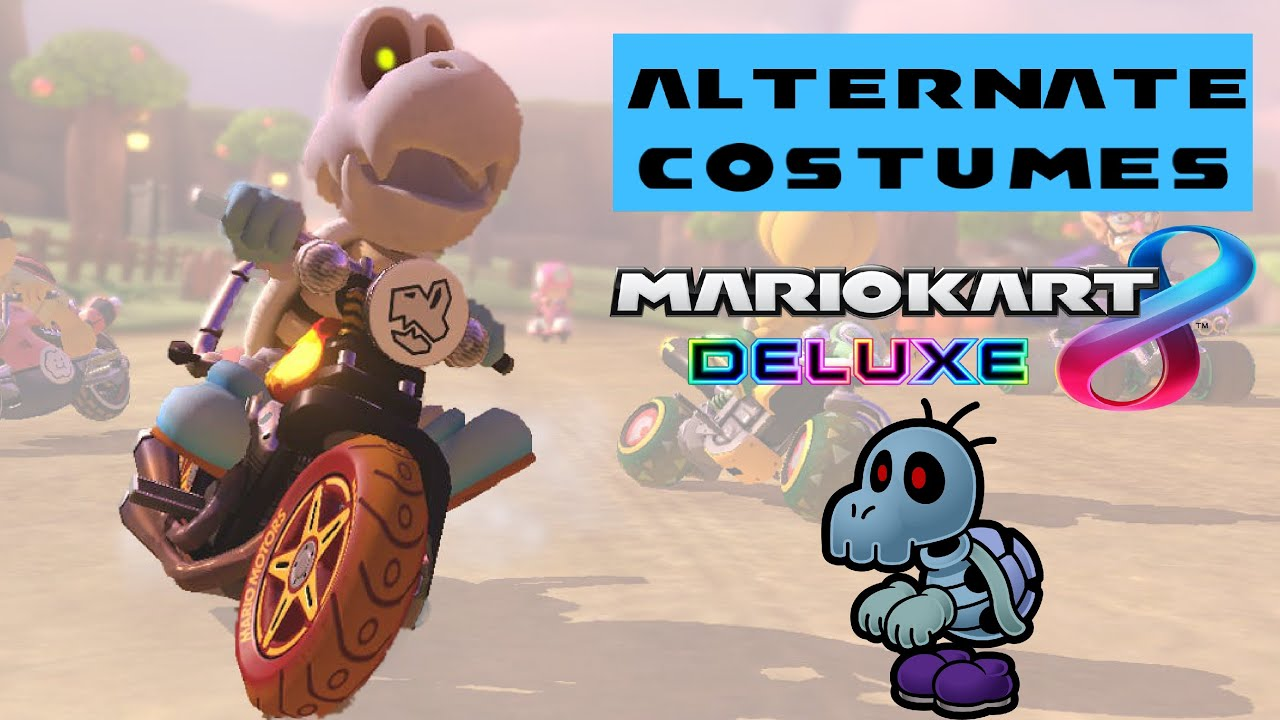 Alternate Costumes For Mario Kart 8 Deluxe Mario Kart Tour Disscusion