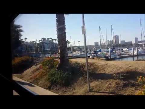 Long Beach Transit 2012 Gillig BRT CNG 1211 on route PASSPORT Northbound