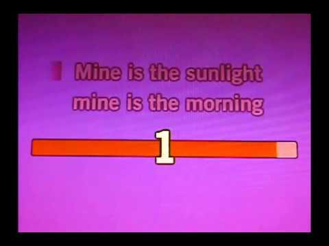 Morning Has Broken - Cat Stevens - KARAOKE