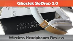 Best Over Ear Wireless Headphones for Glasses Wearers - Ghostek SoDrop 2.0 Review
