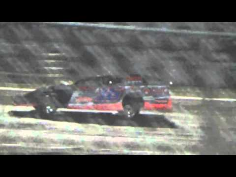 Ark La Tex Speedway ZERO Cancer Night Modified A feature part 2 4/2/16