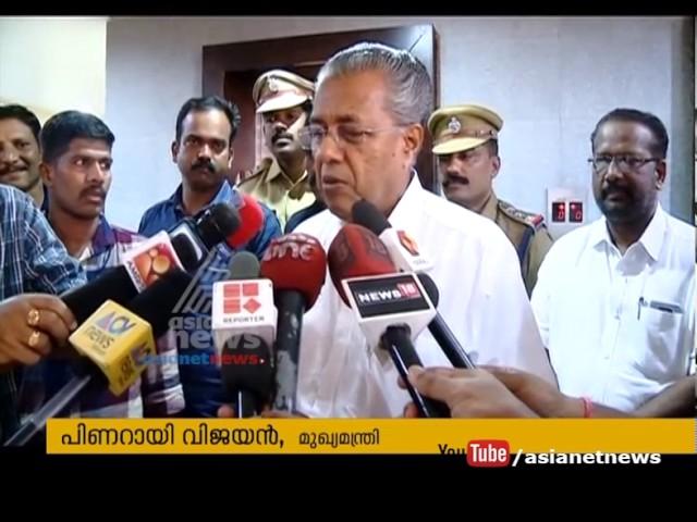 Pinarayi Vijayan Meets Selected people to  evaluate one year of Pinarayi Govt