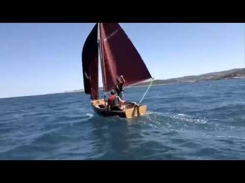 Paper8 Barca Pieghevole.Paper8 Sailing Week 2012