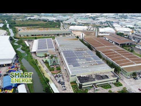 SMART ENERGY ตอน Solar Roof Bangkok Komatsu