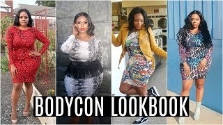 CURVY BODYCON LOOKBOOK Love Your Curves | Crystal Chanel x Edee Beau