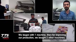 Baby Clothing Textile Factory / Istanbul – Dtg Digital Printing Machine
