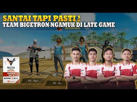 SANTAI TAPI PASTI ! TEAM BIGETRON NGAMUK DI LATE GAME | FREE FIRE MASTER LEAGUE