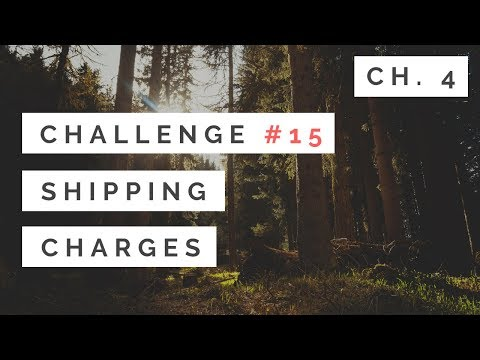 #15: Shipping Charges - Chapter 4 - Tony Gaddis - Starting Out With C++