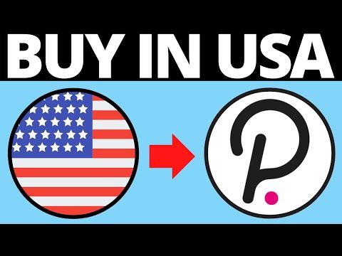 Tutorial Buy Polkadot (Dot) in USA