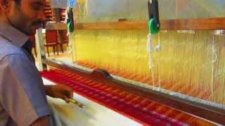 Kanchipuram Handloom Silk Saree Weaving Process