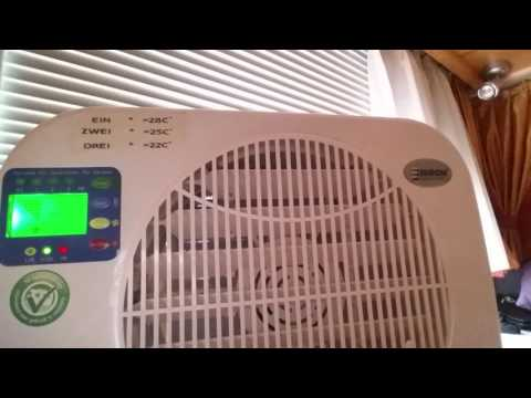 Eurom 2400 Mobile Splitt Klimaanlage