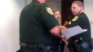 ▶ Nome Travels To Jail at the Orange County Courthouse in Floirda
