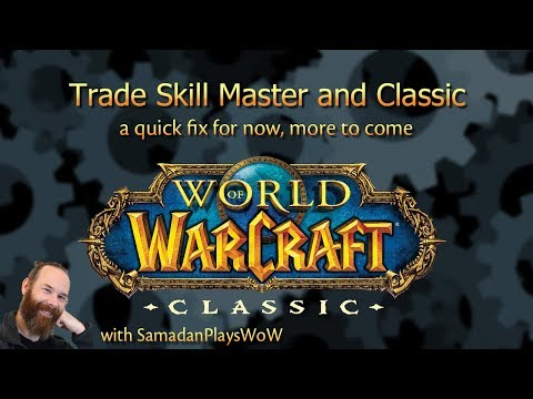 How To Get TSM Working With WoW Classic