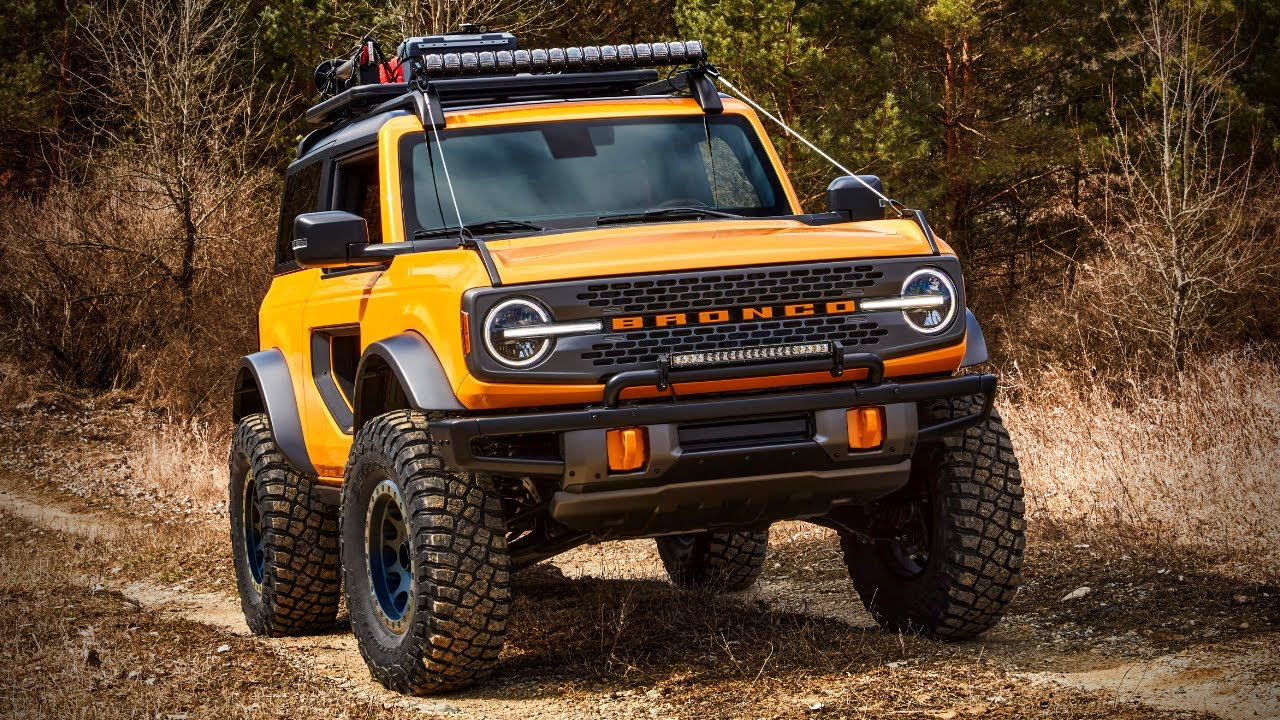 2021 Ford Bronco Sport Specs The Baby Bronco Is Here 2021