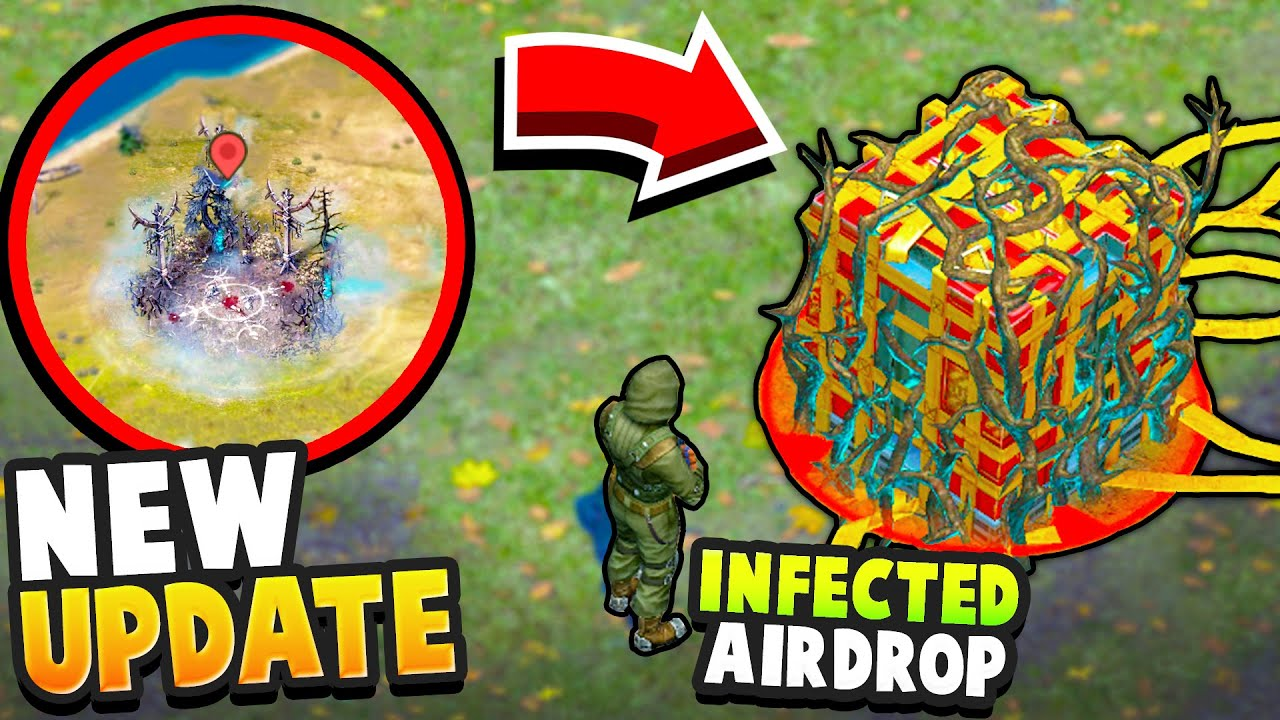 NEW UPDATE - NEW ARENA, INFECTED AIRDROPS, PERFECT WEAPONS... (Arena of Possessed) - Dawn of Zombies
