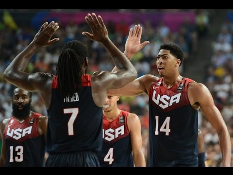 FIBA 2014 World Cup Quaterfinals Slovenia-USA HD