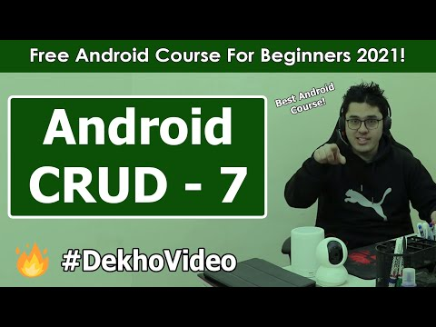 SQLite Android CRUD: Adding ListView | Android Tutorials in Hindi #31 thumbnail