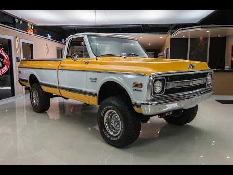 1970 Chevroelt K10 Pickup For Sale