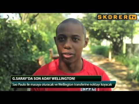 Galatasaray'da Son aday Wellington!   İzle   Spor   Skorer tv