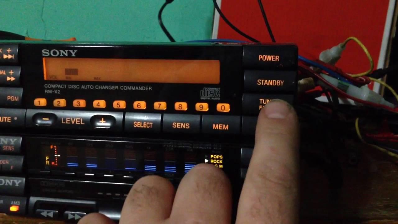 Sony Car Stereo Rack Youtube