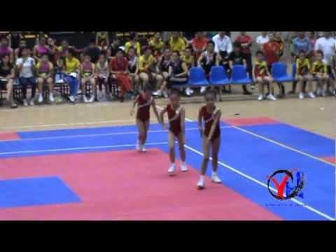Aerobic   1  Hai Phong   Tu chon 3 nguoi Cap 1 4 5   HKPD KVII 2012