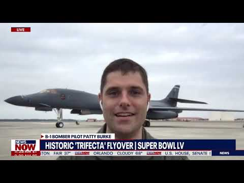 The Chance of a Lifetime: B-1 Bomber Pilot talks Super Bowl Flyover