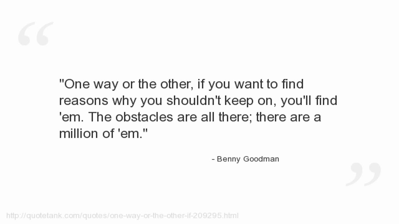 Benny Goodman Quotes Youtube