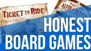 Honest Board Games — Ticket to Ride