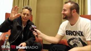 Martin Gore talks about his love affair with music