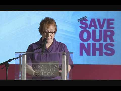 Rally To Save Our NHS: Mary Locke