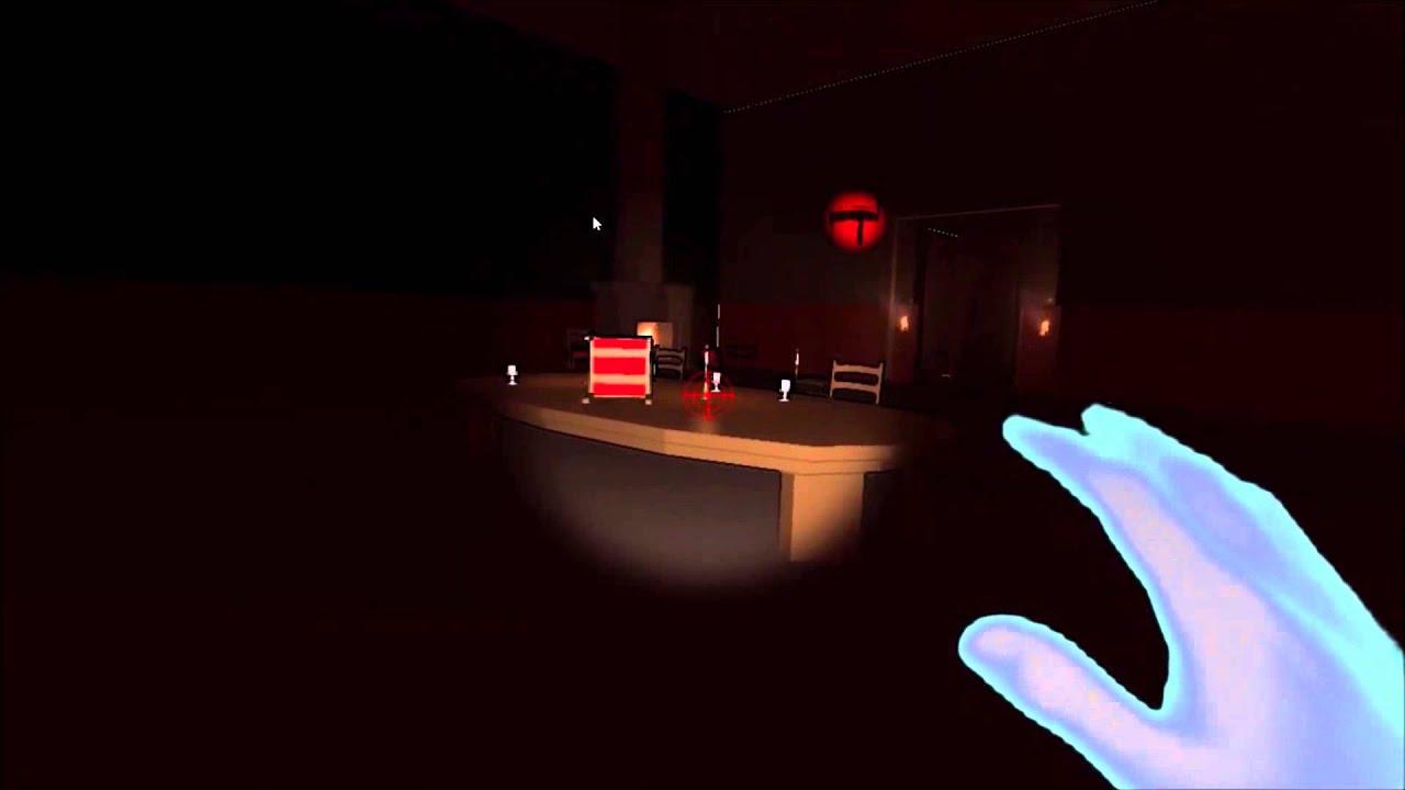 Escape Virtual Reality with Telekinetic Powers