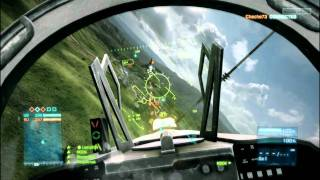 Battlefield 3 Jet fighter Game-play
