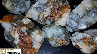 Is There Gold In Pyrite & Chalcopyrite?