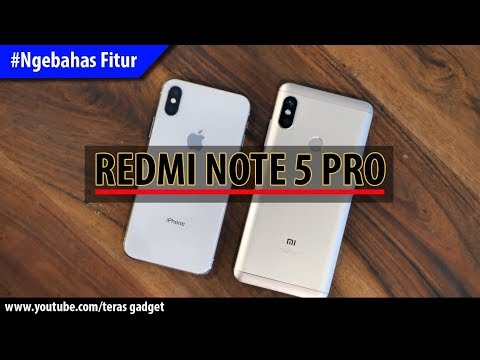 Redmi Note 5 Pro Mirip IPhone X? #Ngebahas Fitur