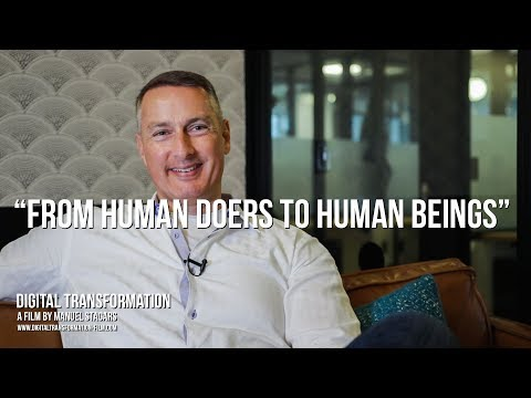 "Digital Transformation: Mark Halverson on ""From Human Doers to Human Beings"""