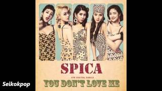 Repeat youtube video SPICA (스피카) - You don't love me [Audio]