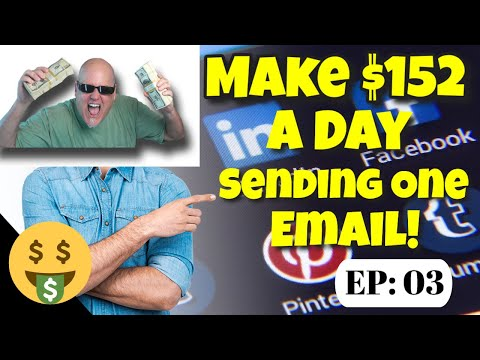 Make $152 a Day With One Email