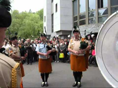 Air Corps Pipe Band Ireland - Cornemuse à Lourdes