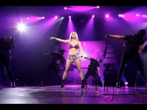 Britney Spears - Womanizer (Audio FFT Center Channel)