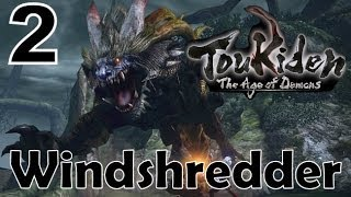 Toukiden: The Age Of Demons - PS VITA 1080P ONLINE Gameplay  2 - Windshredder 4☆