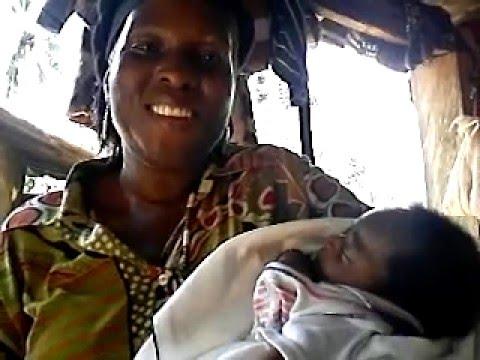 Santrumo Village baby named after me Ghana Africa