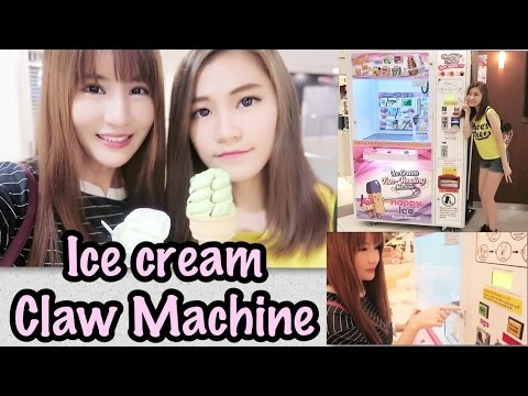 Ice Cream Claw Machine in Singapore