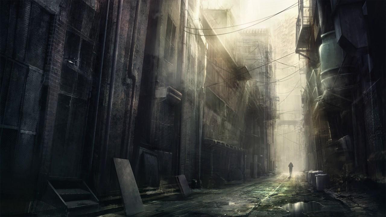 Image result for dark alley