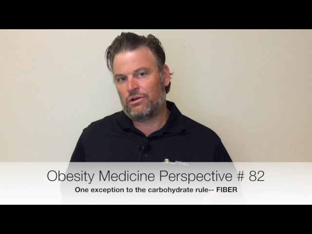 Obesity Medicine Perspective # 82-- a good carbohydrate defined.