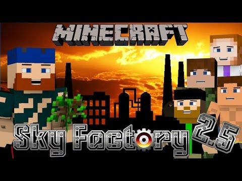 Minecraft | Sky Factory 2.5 | #25 NIGHTMARE ON MINE STREET
