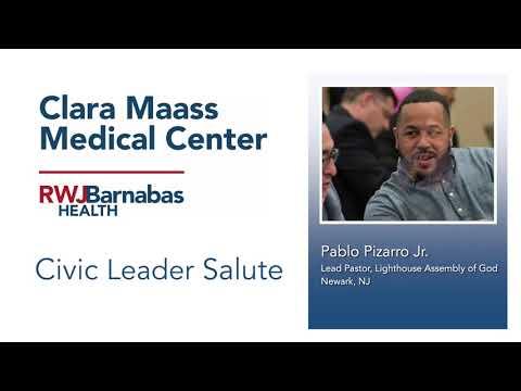 RWJBarnabas Health salutes Pablo Pizarro Jr  - YouTube