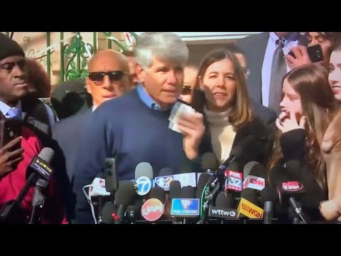 Rod Blagojevich Released: During Press Conference At His Home In Chicago, Praises Trump