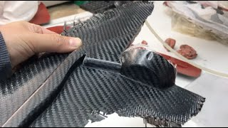2020 Carbon Fiber Efoil, Back  Fuselage Mold  Piece, PART 10