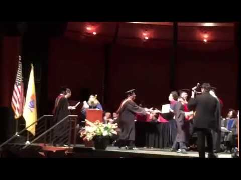 Rutgers Singapore EMBAs at New Jersey Graduation Ceremony 2017